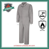 Inherently oil field fireproof aramid frc coverall