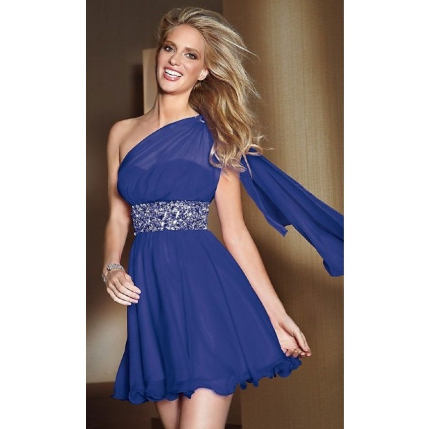 Buy Nitree One Shoulder Sashes Ball Gown Short Mini Elegant Natural Royal Blue Chiffon Bridesmaid Dresses In Cheap Price On Alibaba Com,Corset For Wedding Dresses