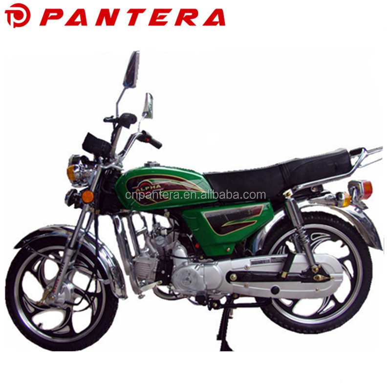 Cheap Price Powerful Alpha Model Street Legal Motorcycle 100cc