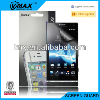 TFT lcd clear screen protector for Sony xperia sl oem/odm (High Clear)