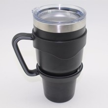New travle cup Stainless Steel coffee mug with logo printing . * / ~