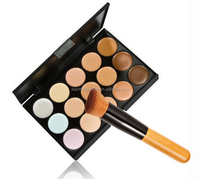 New Fashion Women 15 Colors concealer Face Cream Makeup Cosmetic low price