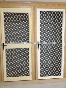 Modern aluminium design window grills design view modern window grill design qicheng product - Modern window grills design ...