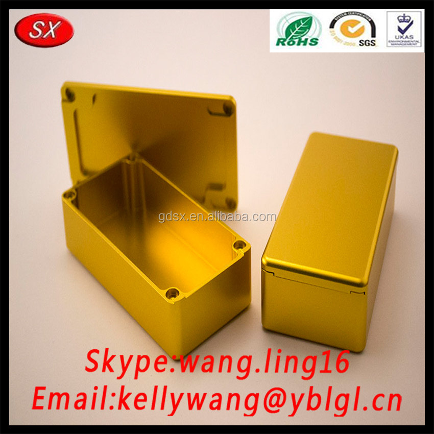 OEM 1590g 1590g+ Aluminum Enclosure Box, 1590n1 Hammond Box Matte Color