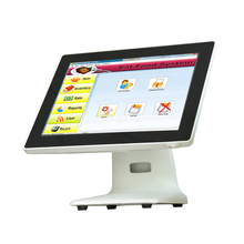 Multi-Function Shopping Mall Electronic Cash Registers 15 Inch Truth Flat Fanless POS System