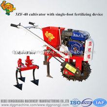 Gasoline 7.5hp mini tiller cultivators/Mini Agriculture plowing machine
