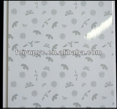 PVC hot stamping & laminate panel decorative ceiling