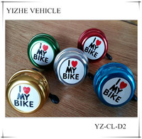 christmas factory wholesale cheap price OEM colored painting metal bicycle bell for sale