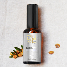 Moroccan argan oil treatment for hair care face care