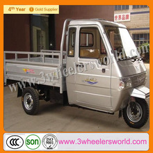2014 China import used car drift trike /tuk tuk/ three wheel motorcycle cargo for sale