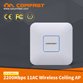 New Products 2018!! The Best Rate 2200Mbps Ceiling AP CF-E385AC OpenWrt Wave 2 Industrial Router Indoor Ceiling Access Point