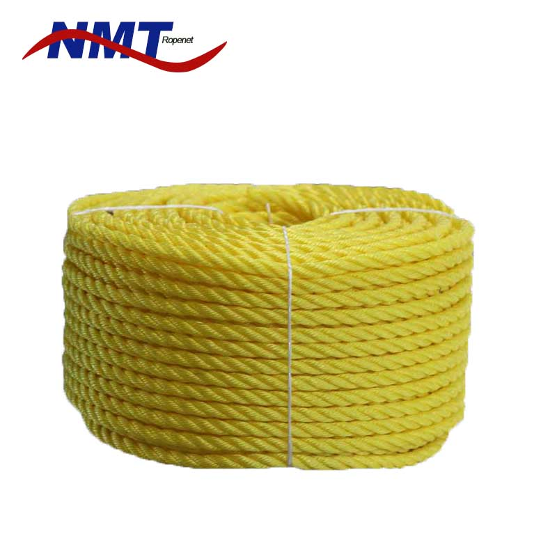 high tensile strength colored 1.5 inch nylon rope