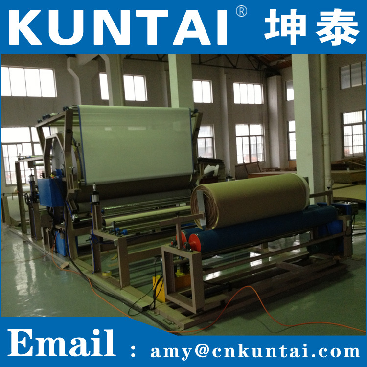 Water Based Glue Laminating Machine for Leather/foam/ fabric