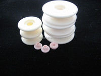 Alumina Ceramic roller/wire guides/textile ceramic yarn guide