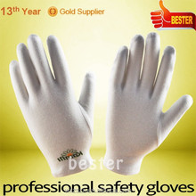 High Performance 100% Cotton Moisture Spa Gloves With Great Low Price