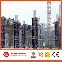 Construction paint plywood steel frame euro formwork Construction formwork steel formwork with wholesale price