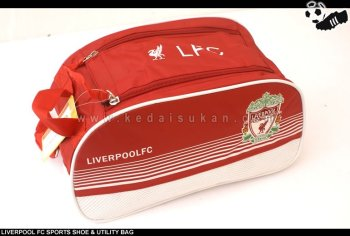 Soccer Fans Sports Shoe & Utility Bag