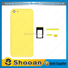 Hot selling battery back cover for iphone 5c,housing back cove for iphone 5c