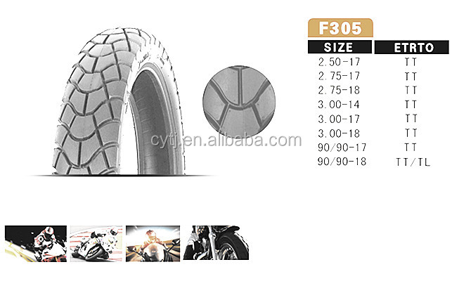 motorcycle tire 2.5-17 motorcycle tyre with better quality