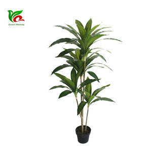 Not need to clean Eco-Friendly home potted plants artificial Dracaena Fragrans Tree