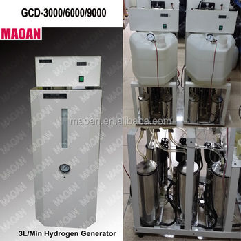 Large Hydrogen production plant GCD-9000 9L/min