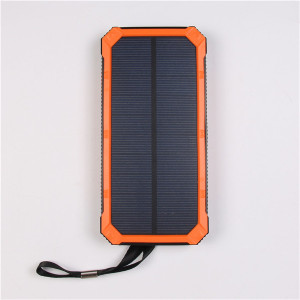 Cell phone external battery solar power bank for laptop solar power bank 10000mAh
