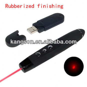 cheapest rc laser pointer with page up/down, rubber finishing