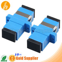 Simplex Fiber Optic SC Adapter