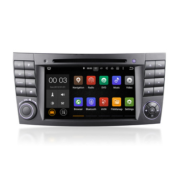 Winmark 7 Inch 2 Din Android 5.1 Car Radio DVD Player Stereo GPS Quad Cord For Mercedes-Benz E-Class E200 2002-2009 DU7080