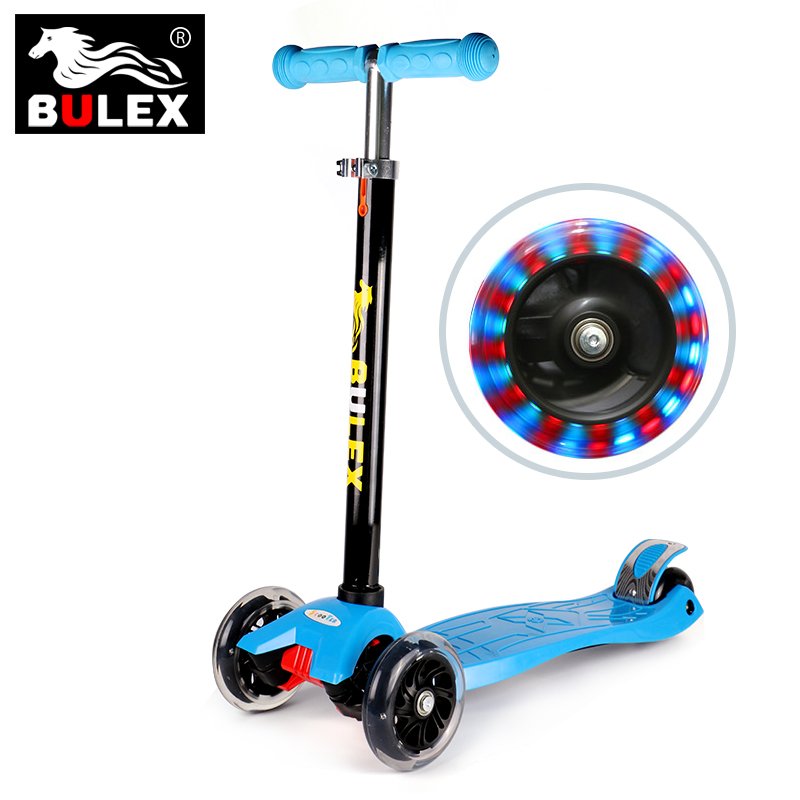 2017 wholesale china children custom cheap kick 3 wheel scooters for sale