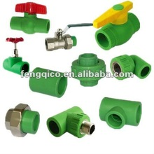 PPR pipe fittings chart