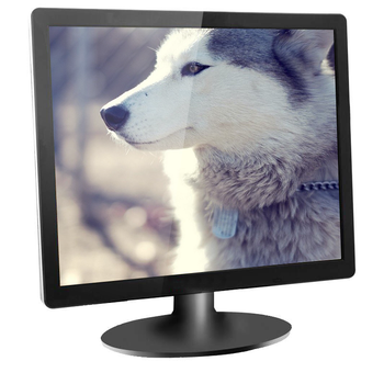 CCTV security POS system monitor led mount computer monitor 19 inch