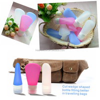 China Supplier New Product Latest Gift Items Wholesale/Silicone Travel Bottles