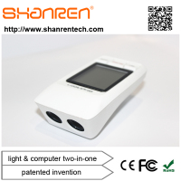 ShanRen Raptor bicycle accessory High Low Off 3 mode 300 lumen led front camping light with cycle computer
