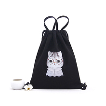 1PM0002 Eco Friendly Promotional Fashion Design Top Quality Canvas Bag Weekender Drawstring Shoe Bag for travel Target Wholesale