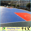 Low price plastic outdoor used basketball floor tile designs