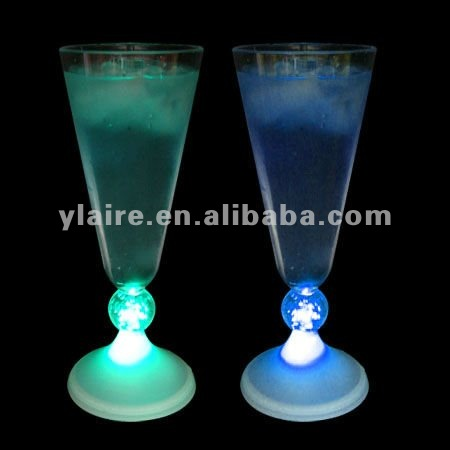 low power blinking led plastic flashing cup for party show
