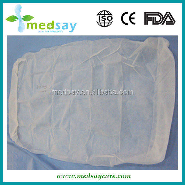 round with elastic disposable PP non woven mattress cover