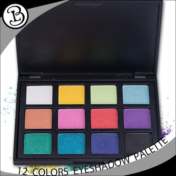 Empty eyeshadow compact ! New fashion bulk eyeshadow palette 12 colors eyeshadow palette