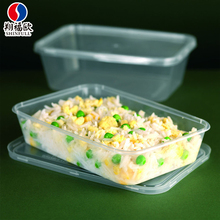 OEM Welcome PP Injection molding plastic box food packing biodegradable take away food box
