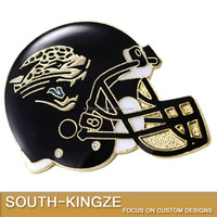 Best selling colored NFL Jacksonville Jaguars football pin badge