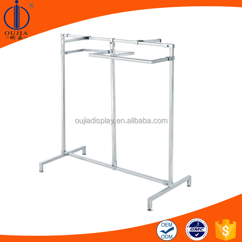 new style metal clothes hanging shelf