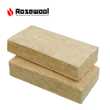 Acoustic insulation 80kg/m3 rock wool 30mm building material wall panel
