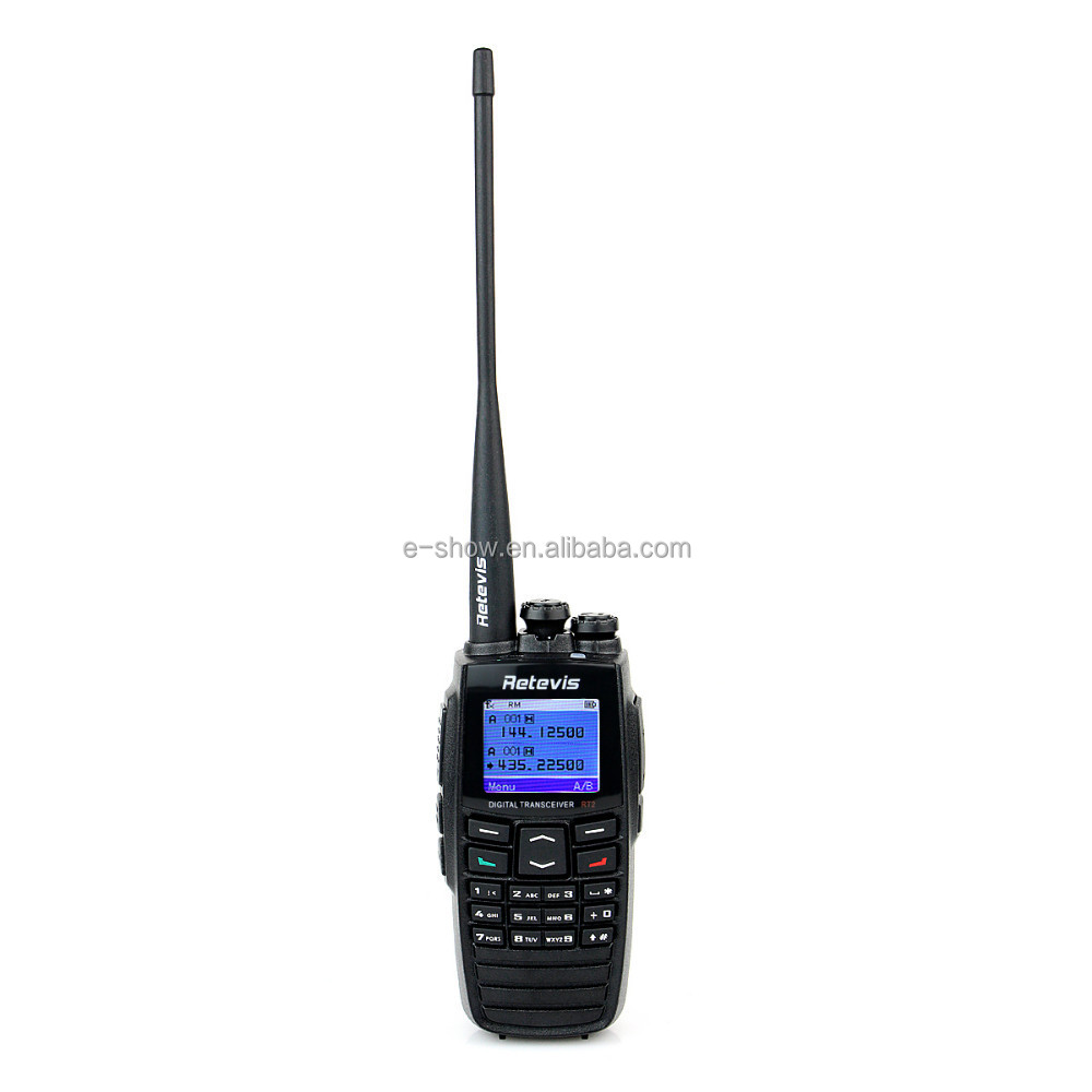 Digital radio Popular 5W 256CH dual band UHF VHF DPMR GPS digital radio