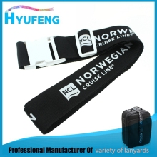Custom personalized adjustable travel luggage belt