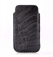 crocodile genuine leather smartphone case for iphone 5c sleeve case