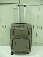 "High quality soft trolley case,pilot spinner wheels trolley case 20""/24""/28"""