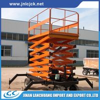 strong hydraulic elevator used for factory