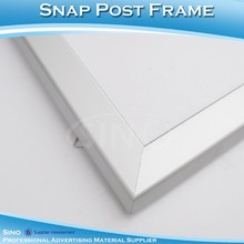 Aluminum Profile Snap Poster Frame For Sign