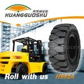 H992A solid rubber forklift machine tire for car 8.25-12